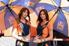 MotoGP Catalunya Grand Prix 2019 royalty-vrije stock fotografie