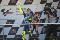 MotoGP España, en Jerez Foto de archivo libre de regalías