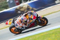 MotoGP España, en Jerez Fotografía de archivo libre de regalías