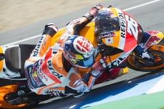 MotoGP Hiszpania w Jerez, Obraz Royalty Free