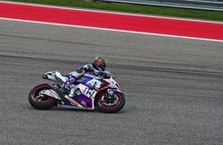 MotoGP Honda rider Karel Abraham Austin Texas 2015. MotoGP rider Karel Abraham races in Austin Texas 2015 stock images