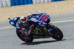 MotoGP 2015: Jorge Lorenzo Royalty Free Stock Photos