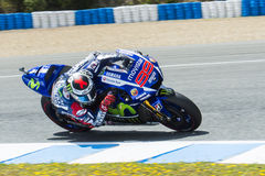 MotoGP 2015: Jorge Lorenzo Stock Photos