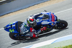 MotoGP 2015: Jorge Lorenzo Stock Image