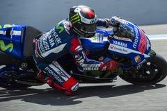 MotoGP 2015: Jorge Lorenzo Royalty Free Stock Image