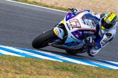 MotoGP Karel pilot Abraham Obrazy Royalty Free