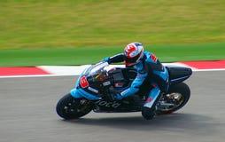 MotoGP motorcykelryttare Danilo Petrucci Royaltyfri Fotografi