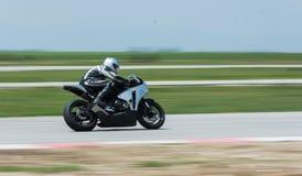 MotoGP que compite con Bulgaria Foto de archivo libre de regalías