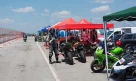MotoGP que compite con Bulgaria Fotografía de archivo