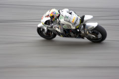 Motogp Racing (Blurred) Royalty Free Stock Image