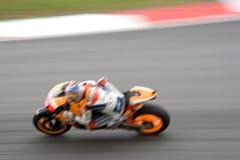 Motogp Racing (Blurred) Stock Photos
