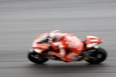 Motogp Racing (Blurred) Royalty Free Stock Photography