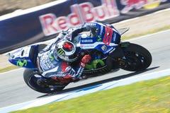 MotoGP Spagna, a Jerez Fotografie Stock Libere da Diritti