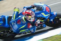 MotoGP Spanien, i Jerez Royaltyfria Bilder