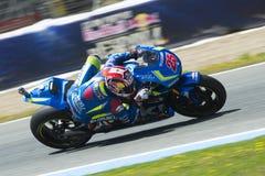 MotoGP Spanien, i Jerez Royaltyfri Foto