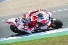MotoGP Spanje, in Jerez Stock Afbeeldingen