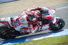 MotoGP Spanje, in Jerez Royalty-vrije Stock Foto's