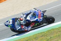 MotoGP Spanje, in Jerez Stock Afbeelding
