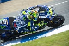 MotoGP Spanje, in Jerez Stock Fotografie
