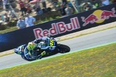 MotoGP Spanje, in Jerez Royalty-vrije Stock Foto