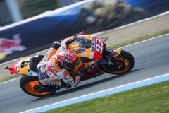 MotoGP Spanje, in Jerez Royalty-vrije Stock Afbeelding