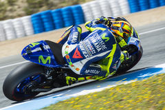 MOTOGP 2015, Valentino Rossi Royalty Free Stock Image