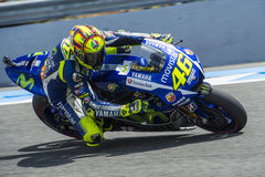 MOTOGP 2015, Valentino Rossi Royalty Free Stock Photos