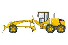 Motograder Stock Photography