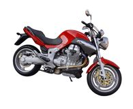 Motoguzzi Royalty Free Stock Image