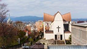 Motomachi district cityscape Royalty Free Stock Photo