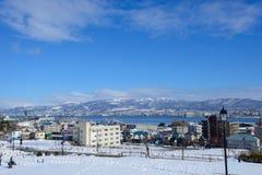 Motomachi Park in Hakodate, Hokkaido Royalty Free Stock Photo