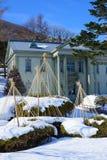 Motomachi Park in Hakodate, Hokkaido Stock Image