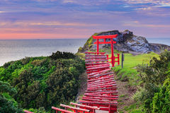 Motonosumi Shrine in Japan Stock Images