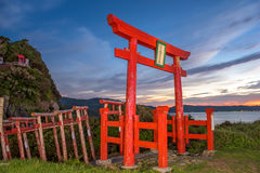 Motonosumi Shrine in Japan Stock Photography