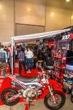 Motopark-2015 (BikePark-2015) Der Ausstellungsstand Motul besuch Lizenzfreies Stockfoto
