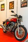 Motopark-2015 (BikePark-2015). The motorcycle (bike) Royal Enfield. Stock Image