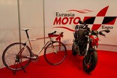 Motoplus Eurasia Moto Bike Expo Royalty Free Stock Photography
