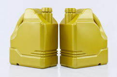 Motoröl-Behandlung Stockfoto