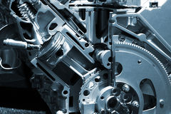 Motor Stockbild