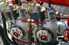 Motor. A view of a great motor Stock Photography