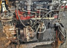 motor stock foto
