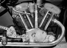 Motor. The part of motorcycle motor stock photo