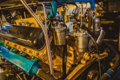 Motor. Avto diesel motor different destination Royalty Free Stock Photo