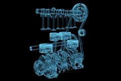 Motor vektor illustrationer