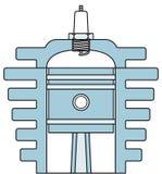 Motor vector illustratie