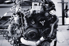 Motor 12 Royaltyfri Fotografi