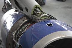 Motor abierto rb211 Fotografía de archivo