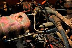 Motor aherrumbrado Imágenes de archivo libres de regalías