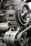 Motor anticuado, primer foto de archivo