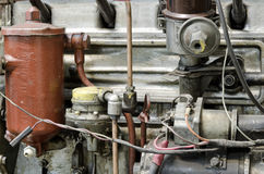 Motor anticuado, tiro del primer imagen de archivo libre de regalías